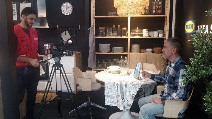 Speech para Mindalia TV en la Cultural Alternativa de Sabadell