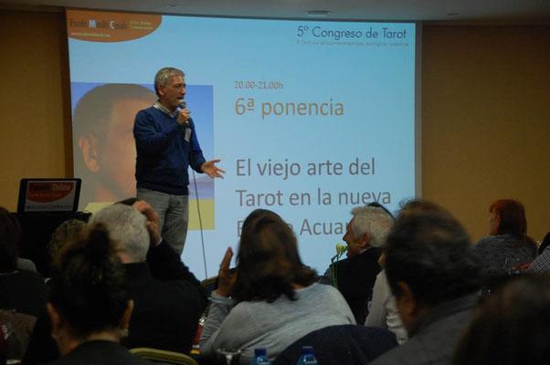 Ponencia en el V Congreso de Tarot (BCN)