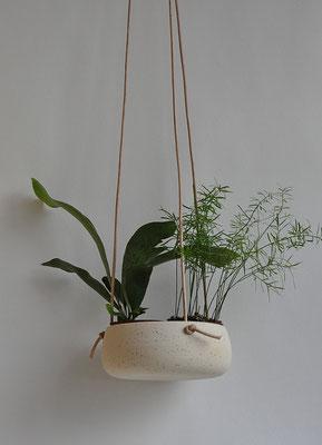 Planzhänger, planthanger, Sinikka Harms, Urbanjungle, Blumenampel, Keramik, Indoorgarten