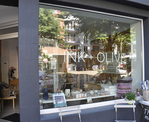 INK+OLIVE Pop Up Store in der Weidenallee 61, Hamburg