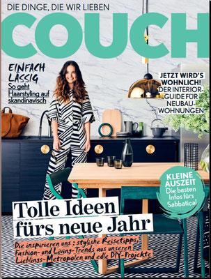 """Geschirrtuch """"Arron"""" in der COUCH Ausgabe 2/2017"""