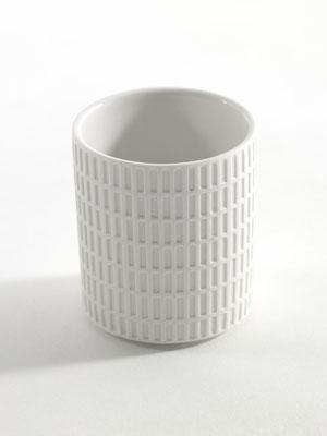 Sigillata-Becher in weiß