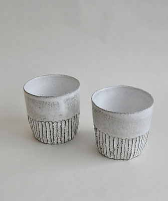 Keramikbecher, Tumbler, handgefertigte Keramik, Ton, Uglyduckly, Tina Kami, Keramik aus Hamburg