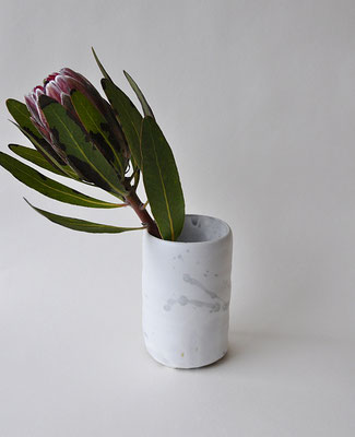"""leider ausverkauft - Vase """"Dots""""  zylindrische Form"""
