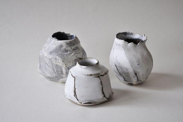 leider ausverkauft - Skulpturale Vasen von Dorothea Kraft Keramik