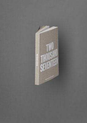 Basic-Taschenkalender, limitierte Auflage TWO THOUSAND SEVENTEEN von Marjolein Delhaas