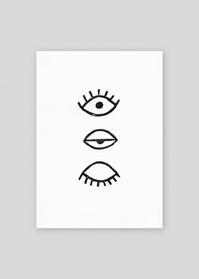 Eye Eye, Augen, Augenposter, Augenprint, Marte Fromme, Fine Little Day
