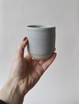 """Becher """"Nordsee"""" für Kaffee oder Tee, handgefertigt, Dorothea Kraft Keramik"""