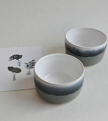 Keramikschale, handgefertigte Keramik, Ton, Uglyduckly, Tina Kami, Keramik aus Hamburg, Glasur mit Verlauf