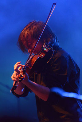 Violinist of Alan Stivell