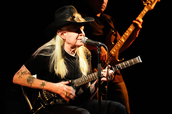 Johnny Winter ( † 16. Juli 2014 )