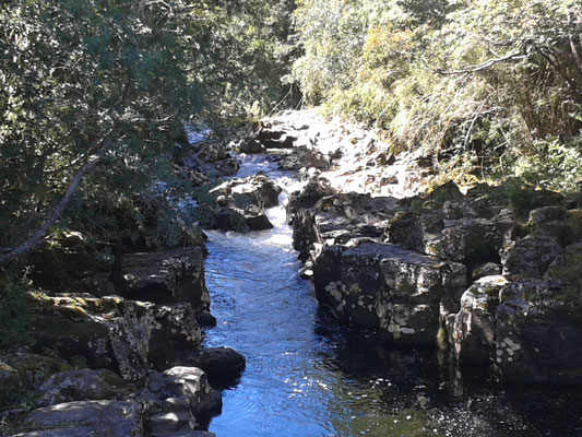 Río Lleguimán, Ruta Costera