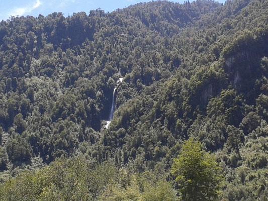 Cascada camino a Río blanco