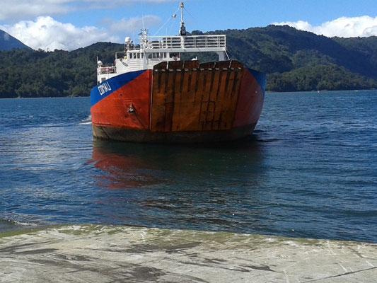 Transbordador a Chaitén