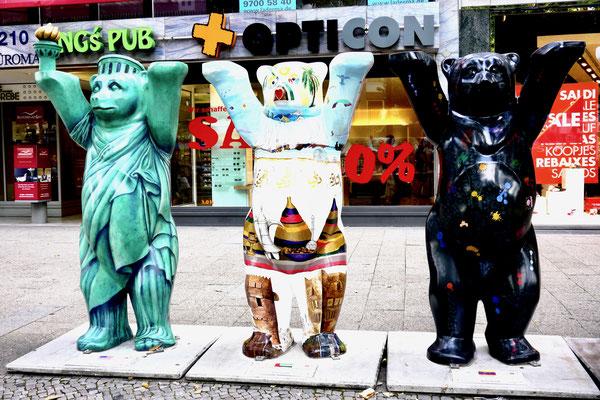Berliner Bären Sehenswürdigkeiten Hauptstadt Deutschland Berlin