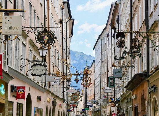 Salzburg Impressionen, Getreidegasse