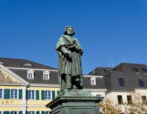 Bonn Beethoven denkmal altes postamt