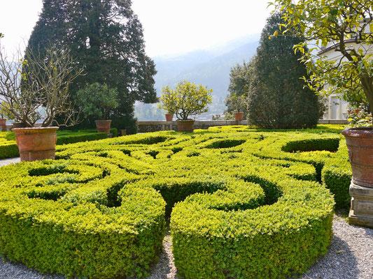 Lago Maggiore Barock Garten Palazzo Borromaer Italien Lago Maggiore