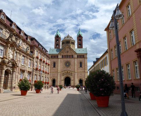 Speyer Altstadt, Maximillianstraße Sehenswürdigkeit Städte Deutschland