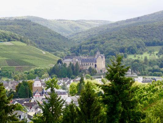 Kloster Kalvarienberg Ahrweiler Rotweinstadt  Ahrtal Sehenswürdigkeit Deutschland