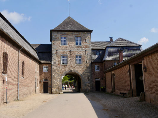 Wasserschloss Dyck am Niederrhein
