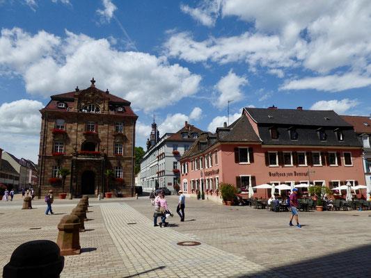 Speyer Altstadt, Domplatz Sehenswürdigkeit