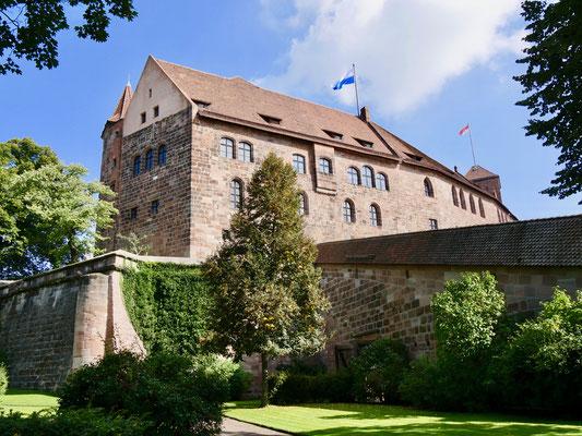 Die Kaiserburg in Nürnberg Sehenswürdigkeiten Deutschland Nürnberg