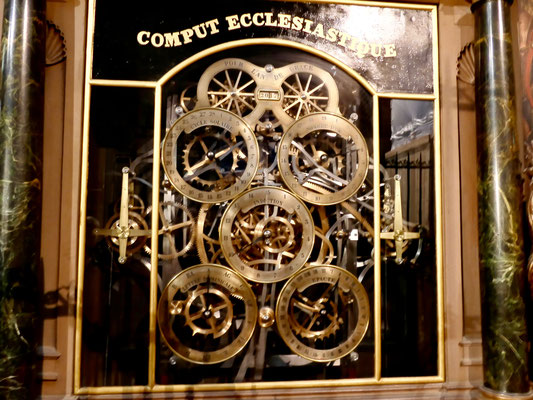 Frankreich, Staßburg Cathedrale Astronomische Uhr