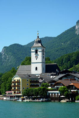 St. Wolfgang Sehenswürdigkeit am Wolfgangsee