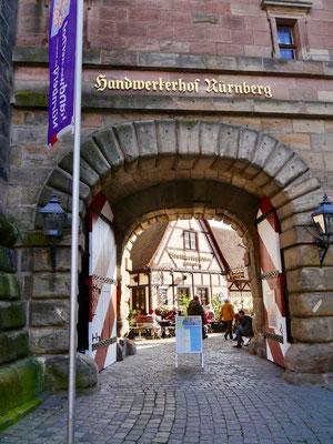 Nürnberger Handwerkshof Sehenswürdigkeiten Deutschland Nürnberg