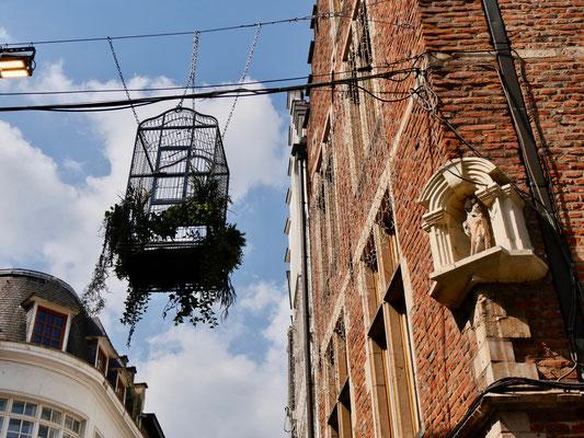 Belgien Brüssel Einkaufsmeile Altstadtstraßen