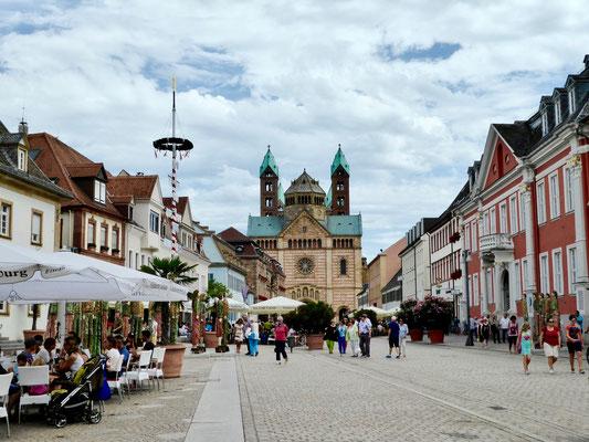 Speyer  Sehenswürdigkeit Städte Deutschland