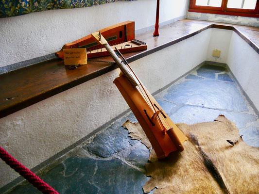 Musik Instrumente Marksburg Ritter Burg Marksburg Braubach am Rhein