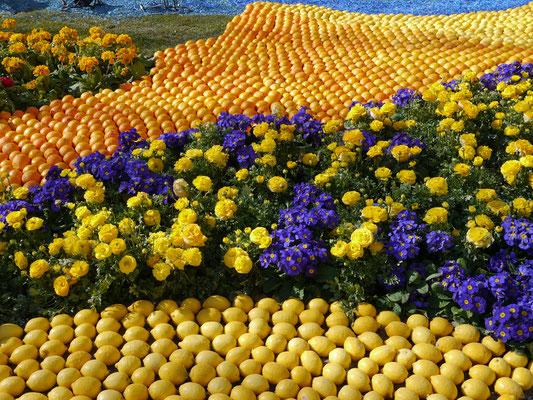 Frankreich, Cote d`Azur, Menton: Fest der Zitronen