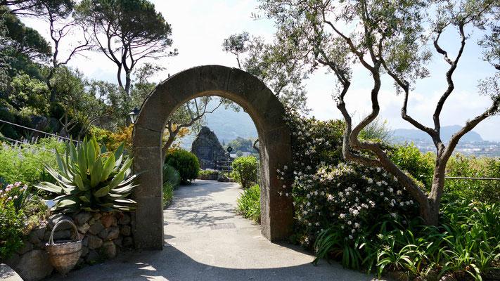 Insel Ischia, Garten Mortella