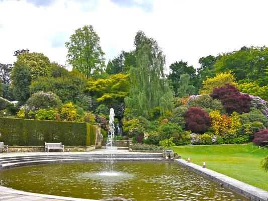 England, Hever Castle Park