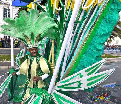 Karneval in Nizza Frankreich Cote DÀzur