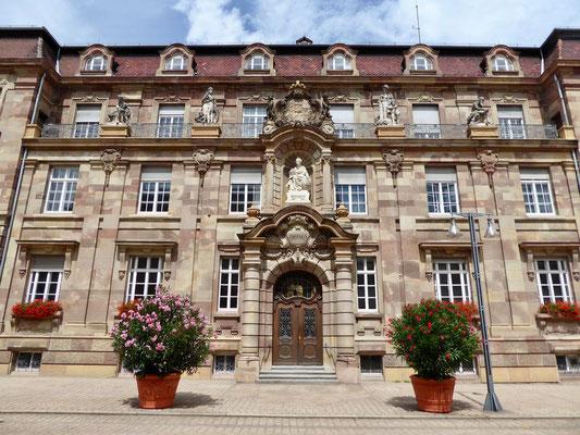 Speyer Altstadt Rathaus Sehenswürdigkeit Städte Deutschland