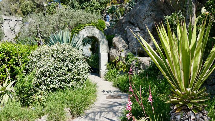 Insel Ischia Garten Mortella