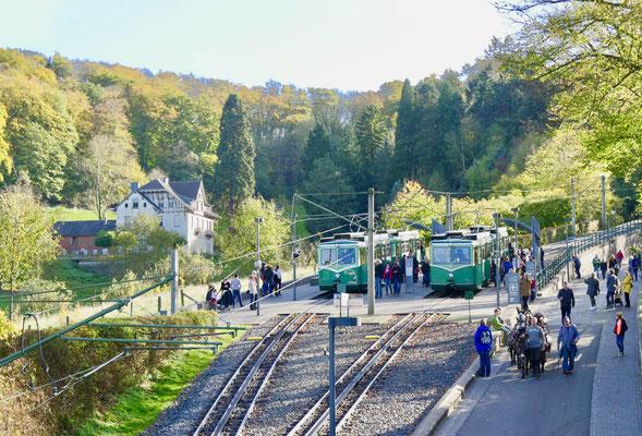 Älteste Zahnradbahn Deutschlands Drachenfels im Siebengebirge