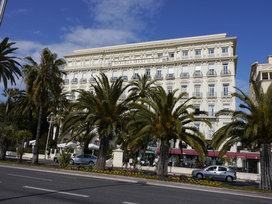 Nizza, Promenade d`Anglais Frankreich Cote DÀzur
