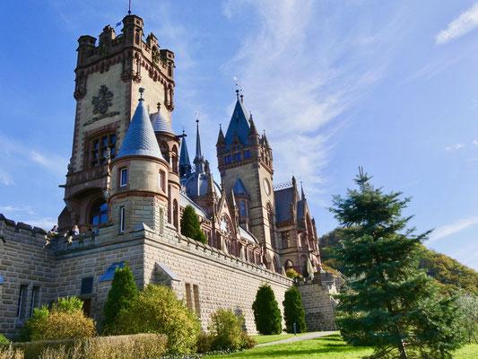 Schloss Drachenburg  Sehenswürdigkeit Siebengebirge Königswinter am Rhein
