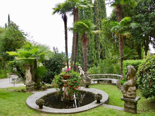 Gardasee: Giardino Vittoriale, Italien