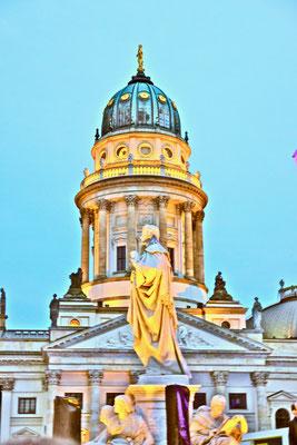 Berlin Gendarmenmarkt Classic Open Air Gendarmenplatz   Sehenswürdigkeiten Hauptstadt Deutschland Berlin