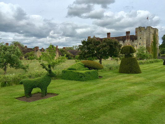 Gartenreise England Hever Castle