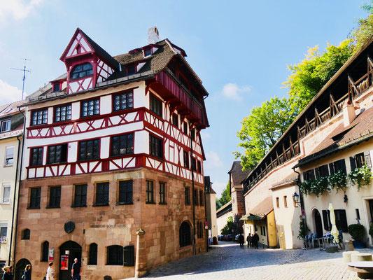 Albrecht Dürer Haus in Nürnberg Sehenswürdigkeiten Deutschland Nürnberg
