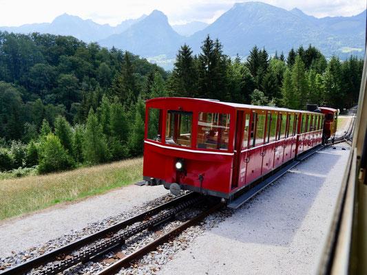 Schafbergbahn St. Wolfgang am Wolfgangsee Österreich Sehenswürdigkeit am Wolfgangsee