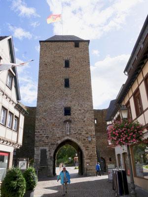 miss ellies städte und gartenreisen, Stadtmauer Ahrweiler