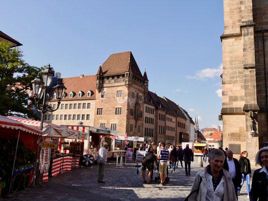 Die Königsstraße in Nürnberg
