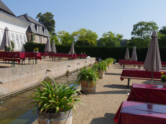 Sehenswürdigkeite Schloss Dyck am Niederrhein bei Jüchen
